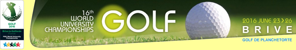 wuc-golf2016 – World university Golf Championship – Championnat du monde universitaire brive 2016